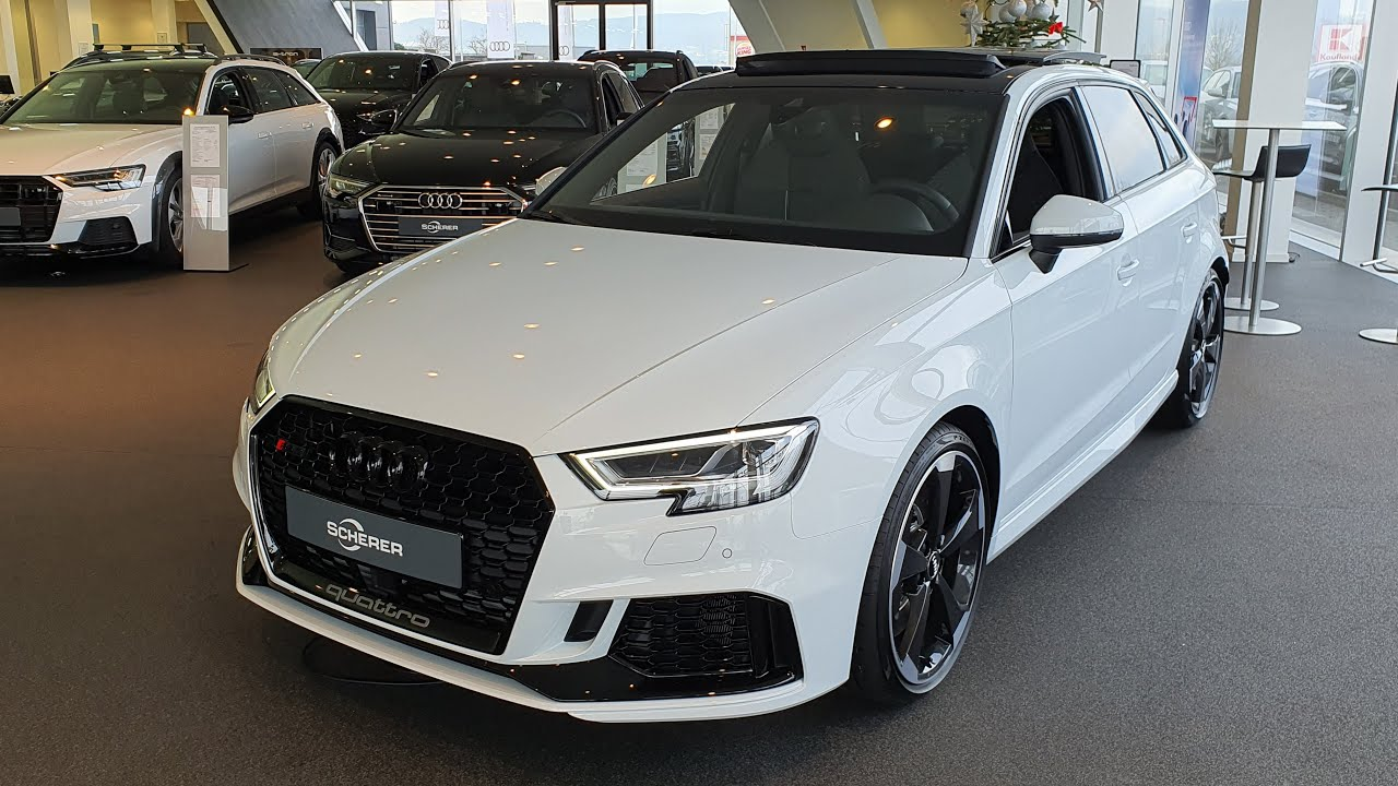 2020 Audi Rs3 Sportback S Tronic Visual Review Youtube