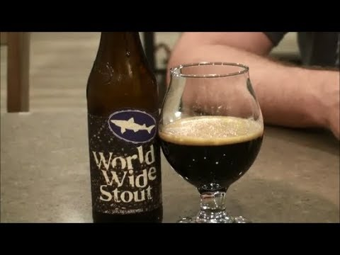 World Wide Stout (2019) -- Dogfish Head Craft Brewery