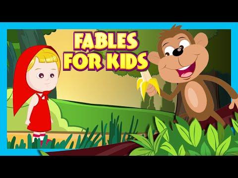 FABLES FOR CHILDREN - Top 10 Stories | Animal Stories For Kids | Preschoolers | Stories