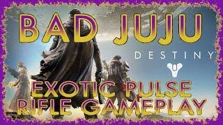 DESTINY | UPGRADED BAD JUJU PULSE RIFLE GAMEPLAY & TOLAND