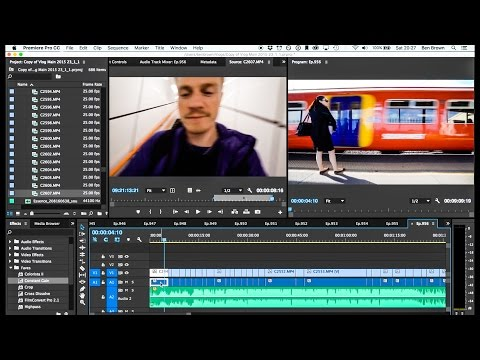 Vlog Editing Tutorial - Ben Brown