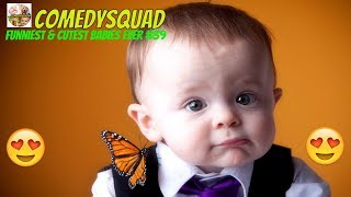 Funniest & Cutest Babies Ever #39-Try Not To Laugh Challenge