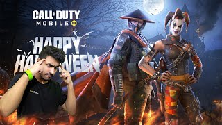 NEW CALL OF DUTY MOBILE HALLOWEEN UPDATE! LIVE SOLO VS SQUAD