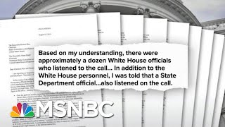 All The President's Men Named In The Whistleblower Complaint | Deadline | MSNBC