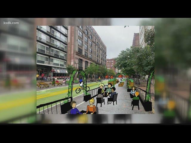 Woman reimagines empty St. Louis lots as 'pocket parks'