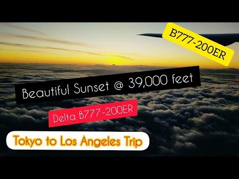 Tokyo / Haneda To Los Angeles Trip