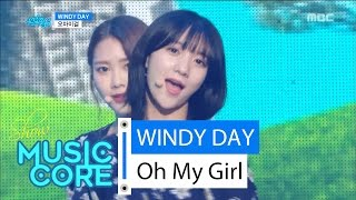 [HOT] OH MY GIRL - Windy Day, 오마이걸 - 윈디데이 Show Music core 20160618