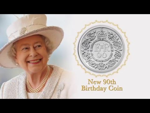 NEW DRTV AD - THE QUEENS 90th BIRTHDAY COIN