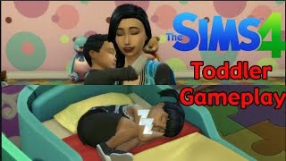 Sims 4: Toddler Gameplay ~ Potty Training, Feedings, & More