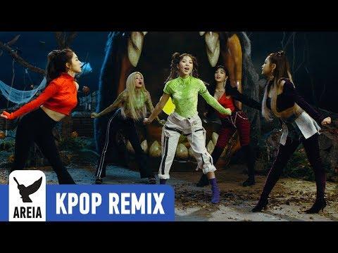 [KPOP REMIX] Red Velvet - Really Bad Boy   Areia Kpop Remix #327 80s 90s RETRO Version