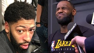 """Anthony Davis Says """"I Want To Join THE CLIPPERS And Play WITH KAWHI"""" & LeBron SHOCKING REACTION!"""
