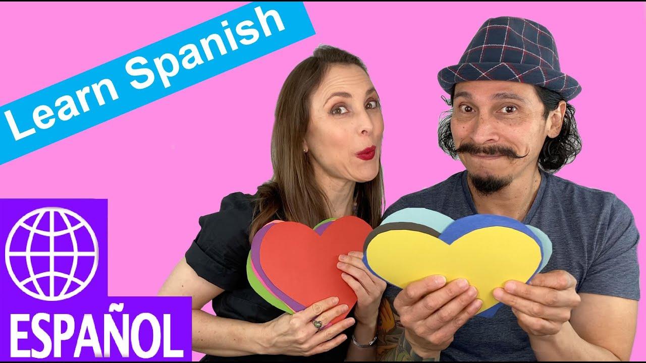 Kids Songs to Learn Spanish by Alina Celeste and Mi Amigo Hamlet - Colors - YouTube