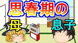 【ゆっくり茶番】思春期のママ魔理沙と息子主 thumbnail