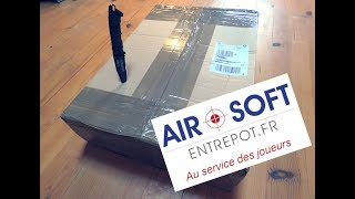 UNBOXING / AIRSOFT ENTREPOT / FR