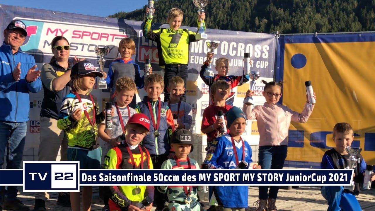 Die Interviews & Rennen der 50ccm beim Saisonfinale des MY SPORT MY STORY Liqui Moly JuniorCup 2021