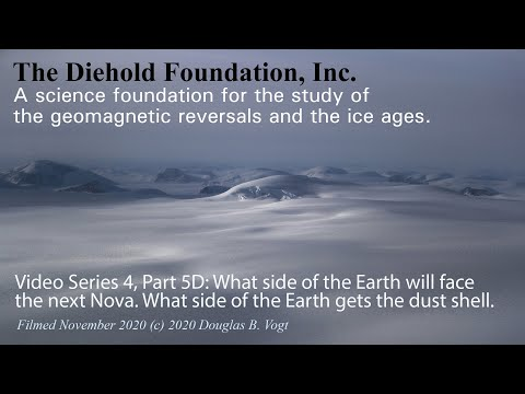 Series 4, Part 5D, Which side of the Earth will get the Nova, which side gets the dust shell