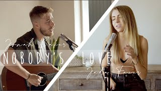 Download Mp3 Nobody's Love - Maroon 5  Acoustic Cover By Jonah Baker And Jada Facer