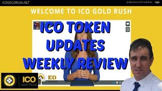 ICO Gold Rush Review ICO Gold Rush Tutorial Genesis Mining ICO Weekly Update with Anthony Darvill