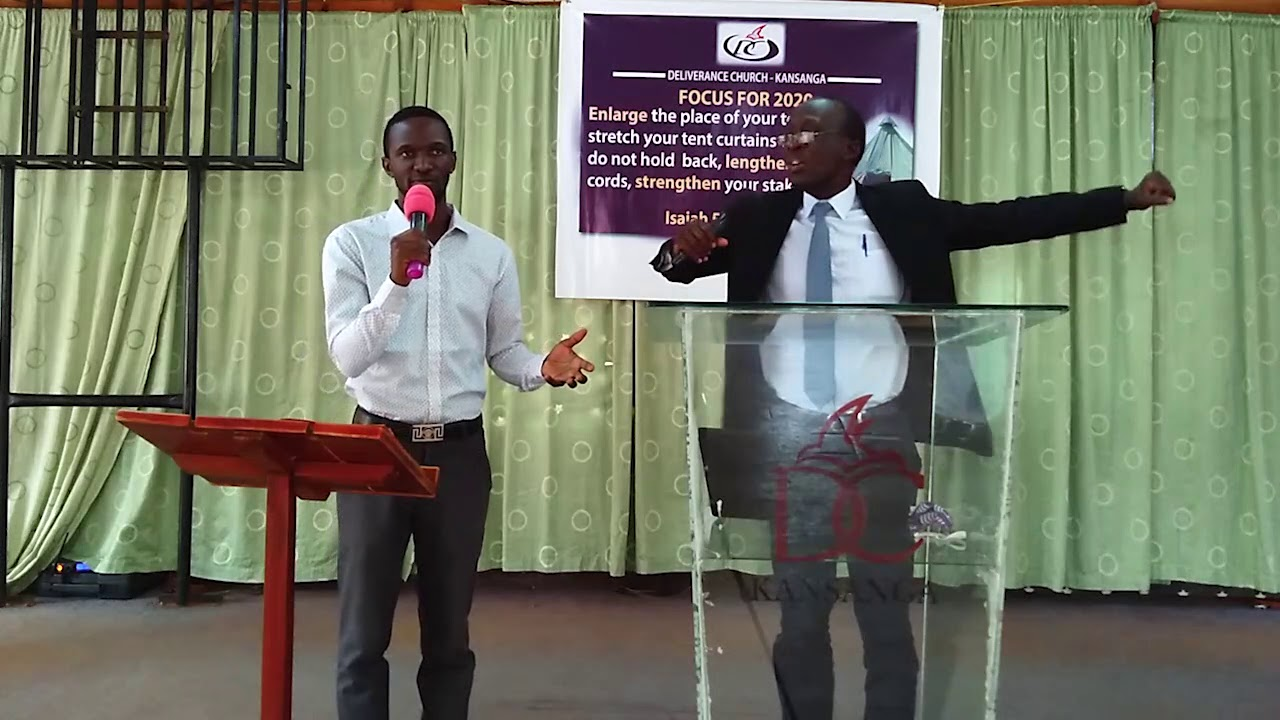 Download Enlarging our tents - taking stock of the first six months - Pastor Charles Odonga.