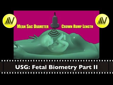 Fetal Biometry Part II MSD and CRL