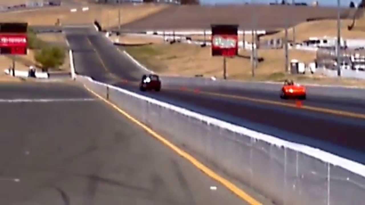 Chevy Bel Air Vs Austin Healy V8 Drag Car Sonoma Raceway Youtube