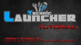 Technic Launcher -  Resolver erro FML e erro de download modpack
