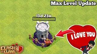 Wizard Tower Max Level Update in Clash of Clans