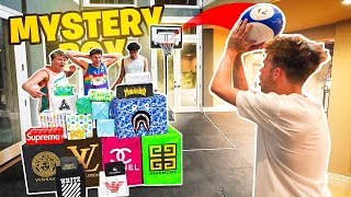 Last To Miss MINI HOOP SHOT Wins Mystery BOX! w/ 2HYPE