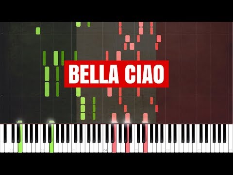 Bella Ciao [Piano Tutorial] (Synthesia)
