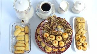Fresh Baked Assorted Cookies | homemade Mixed cookies recipe by Easy Cooking With Shazia