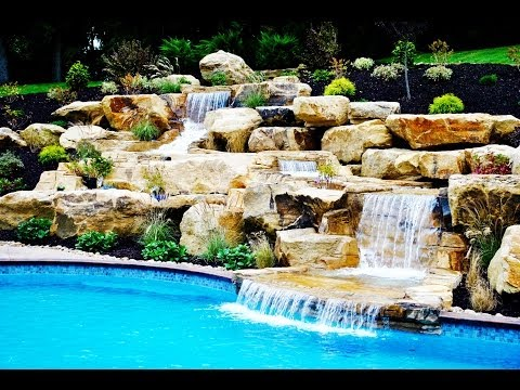 Concrete swimming pool and waterfall pittsburgh youtube - Riverview swimming pool pittsburgh pa ...