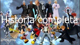 Historia Completa de la Saga Kingdom Hearts(Cronológicamente)