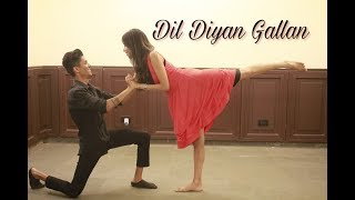 Dil Diyan Gallan Choreography I Easy Bollywood Couple Dance I Wedding Choreograpy