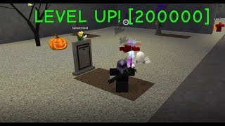 Roblox Zombie Attack - LEVEL 200,000!