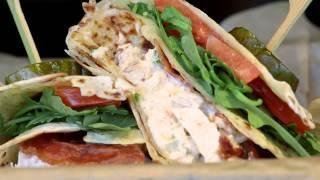 Piada Italian Street Food -chicken Salad Tasca