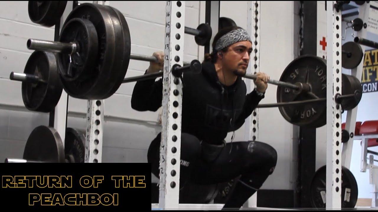 My Return To Strength Training - YouTube