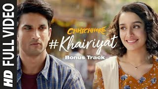 Khairiyat puchho arijit singh song |    chhichhore(2019) | hindi sad song | kaifiyat puchho song |