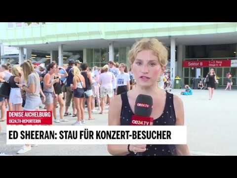 Stau Vor Kassen: Ed Sheeran Rockt Wien