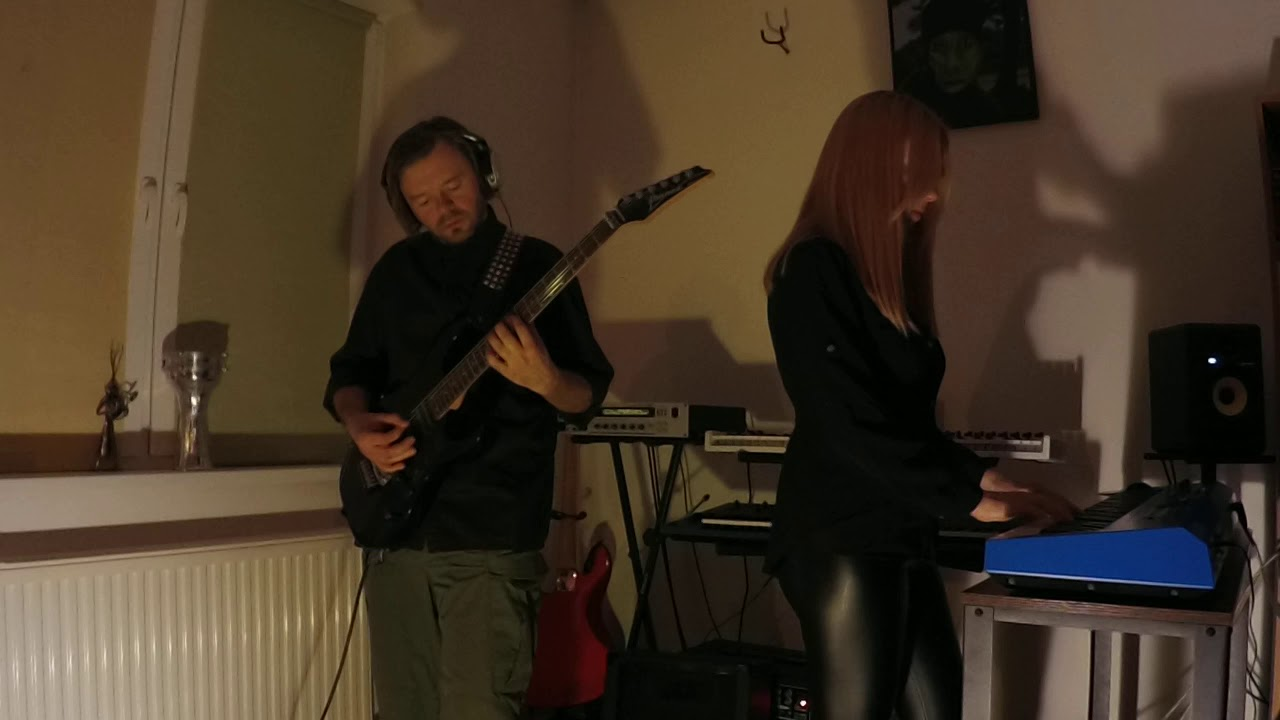 Evelyn - Mental Isolation / With Stars Polemic [live from the rehearsal room 08.01.2021] Goth Metal