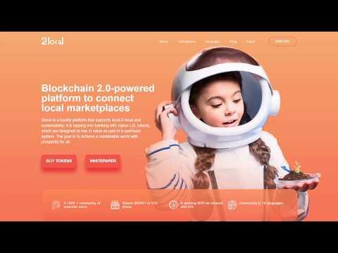 2local - платформа на основе технологии блокчейн с системой кэшбэка и токеном L2L.
