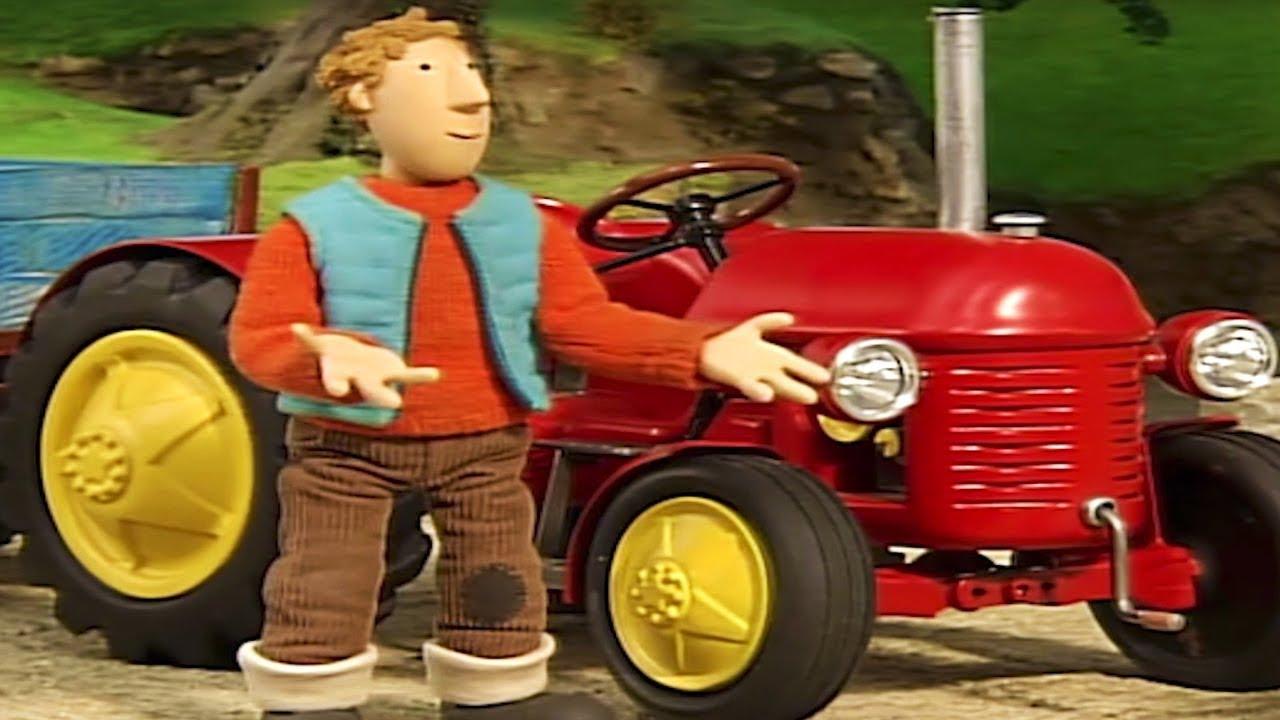 Kleiner Roter Traktor Maulwurfshügel und