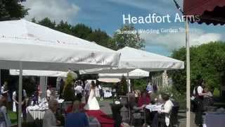 Headfort Arms Summer Garden Wedding Showcase