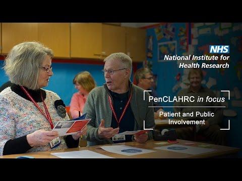 NIHR New Media Competition 2016 - Patient & Public Involvement (PPI)