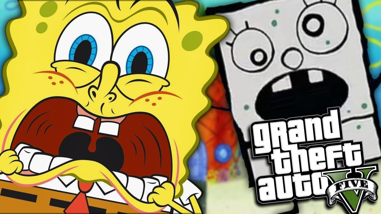Gta  Mods Spongebob Vs Doodle Bob Mod Gta  Pc Mods Gameplay