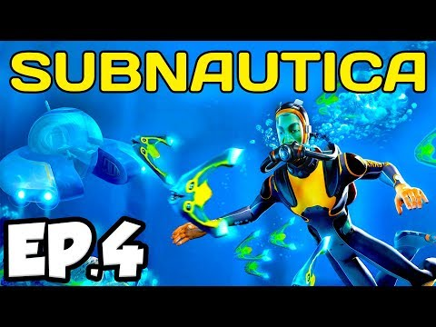 Subnautica Ep.4 - DISCOVERING AN ABANDONED UNDERWATER BASE!!! (Full Release Gameplay / Let's Play)