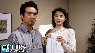 金沢で芳行(林隆三)と一夜を共にした女性・佳沢妙子(紺野美沙子)が喪服で...