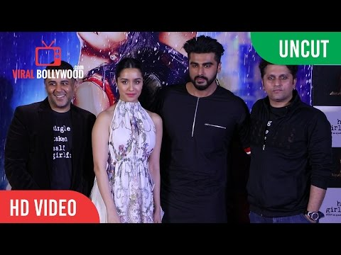 Uncut - Half Girlfriend Official Trailer Launch | Arjun Kapoor | Shraddha Kapoor | Mohit Suri