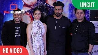 Uncut - Half Girlfriend Official Trailer Launch   Arjun Kapoor   Shraddha Kapoor   Mohit Suri