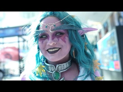 A Minute of Crazy Cosplay from Blizzcon 2016 Day 1 - IGN Access