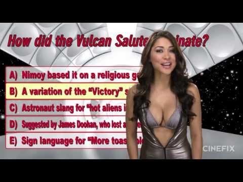 Star Trek STRIP Trivia with Arianny Celeste